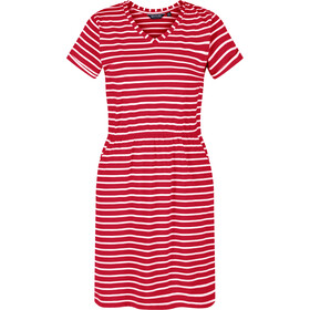 Regatta Havilah Dress Women, true red/white stripe